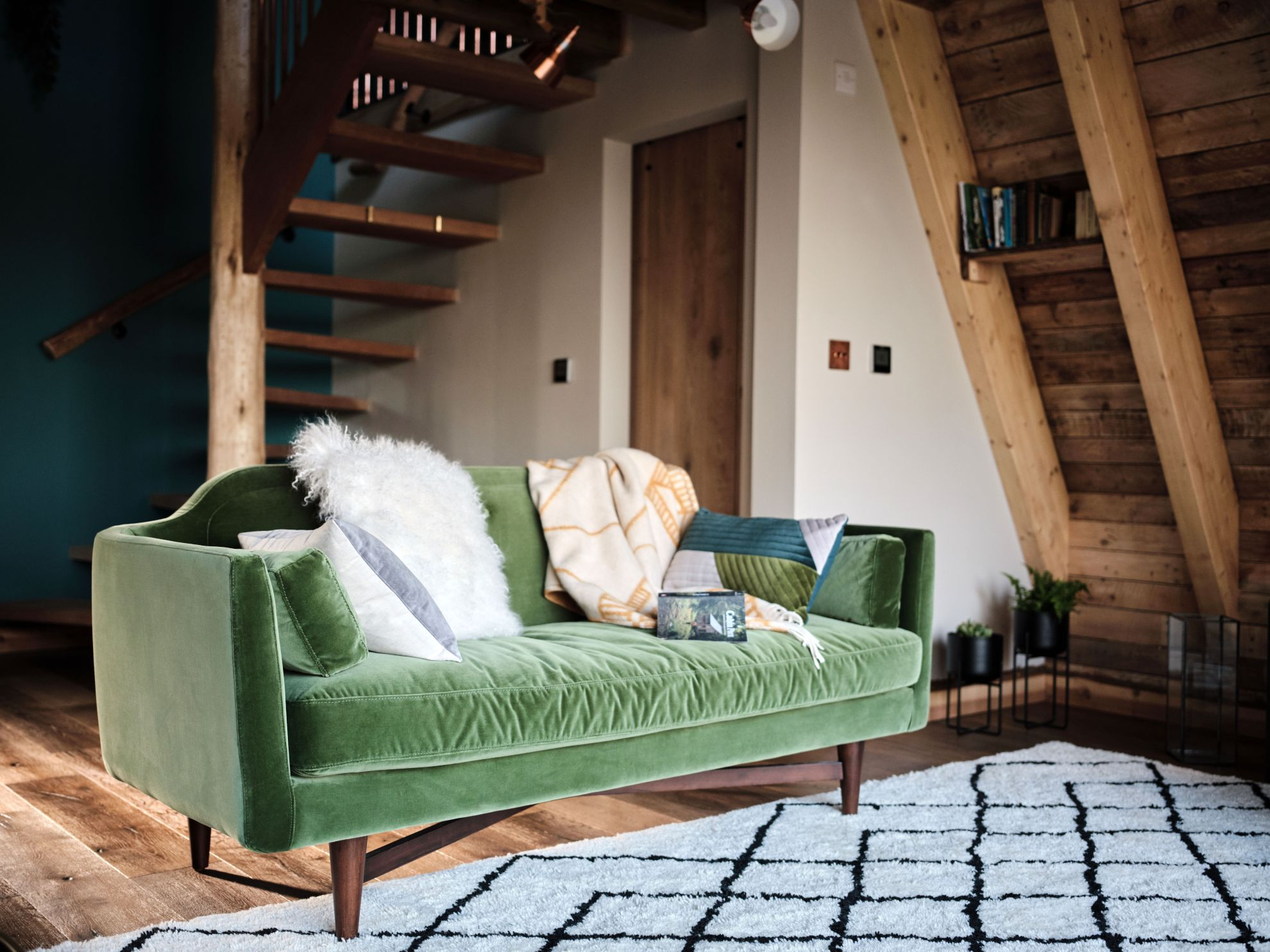 Luxury Treehouse Interior in partnership with MADE.COM