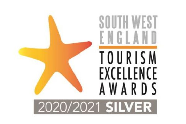 South West Tourism Awards Silver Winner 2020-21
